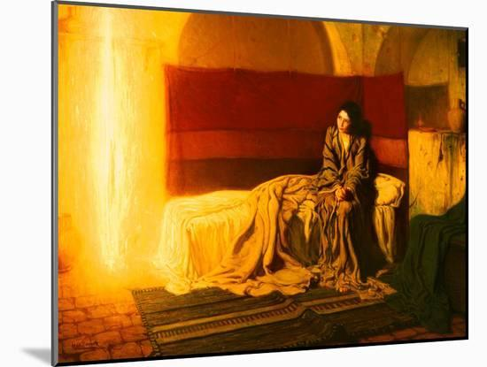 The Annunciation, 1898-Henry Ossawa Tanner-Mounted Giclee Print
