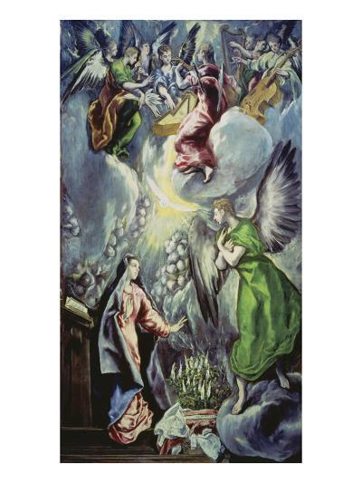 The Annunciation, about 1597/1600-El Greco-Giclee Print