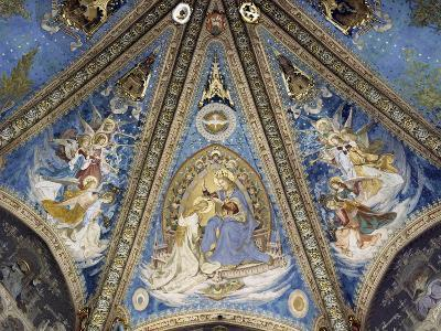 The Annunciation and Angels--Giclee Print
