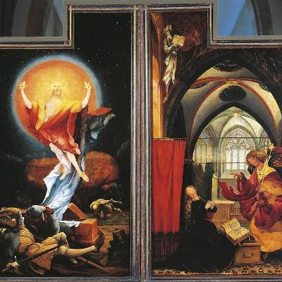 The Annunciation and Resurrection of Christ--Giclee Print