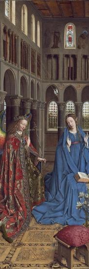The Annunciation, C. 1434- 36-Jan van Eyck-Giclee Print