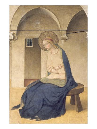 The Annunciation, C.1438-45-Fra Angelico-Giclee Print