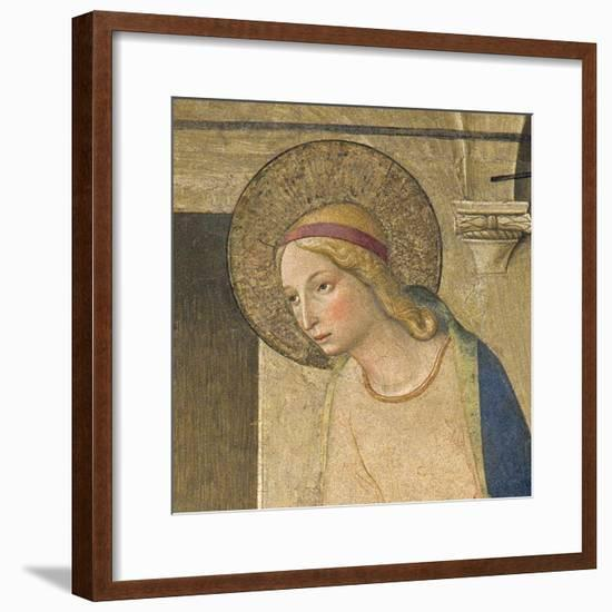 The Annunciation , c.1438-45-Fra Angelico-Framed Giclee Print