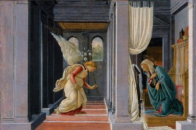 The Annunciation, c.1485-Sandro Botticelli-Giclee Print
