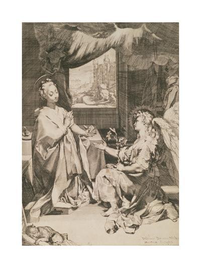 The Annunciation, C.1581-Federico Fiori Barocci-Giclee Print