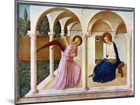 The Annunciation, C1438-1445, (C1900-192)-Fra Angelico-Mounted Giclee Print