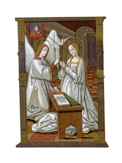 The Annunciation, C1503-Franz Kellerhoven-Giclee Print