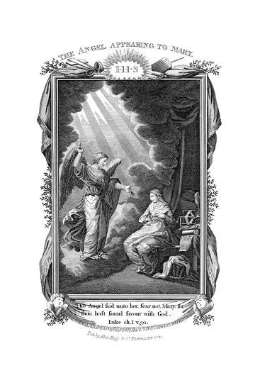 The Annunciation, C1808--Giclee Print