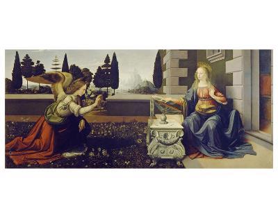 The Annunciation, ca. 1472-Leonardo Da Vinci-Art Print