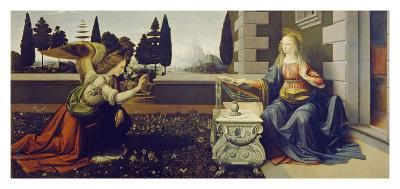 The Annunciation, ca. 1472-Leonardo Da Vinci-Art Print