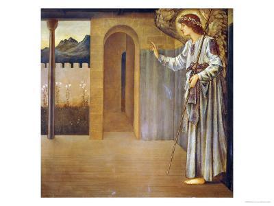 The Annunciation, Dated 1893-Edward Burne-Jones-Giclee Print