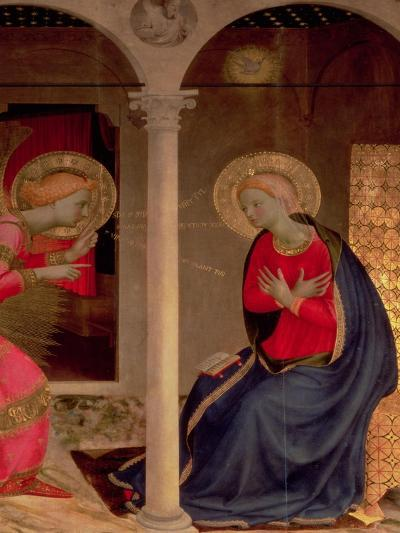 The Annunciation (Detail)-Fra Angelico-Giclee Print