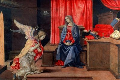 The Annunciation, Early 1490S-Filippino Lippi-Giclee Print