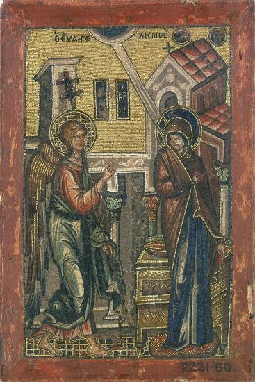The Annunciation, Early 14th Century--Giclee Print
