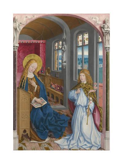The Annunciation (The Liesborn Altarpiec), Ca. 1470-1480--Giclee Print
