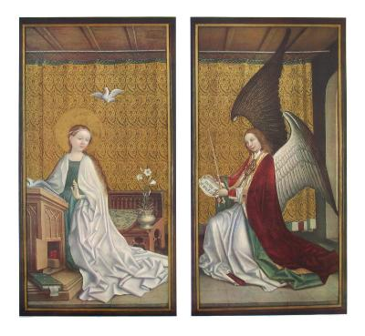 The Annunciation-Stephan Lochner-Collectable Print