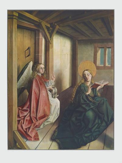 The Annunciation-Konrad Witz-Collectable Print