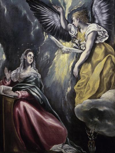 The Annunciation-El Greco-Giclee Print