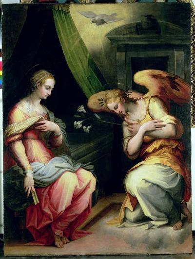 The Annunciation-Giorgio Vasari-Giclee Print
