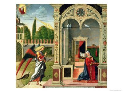 The Annunciation-Vittore Carpaccio-Giclee Print