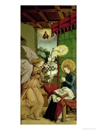 The Annunciation- Master Of Messkirch-Giclee Print