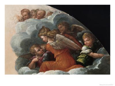 The Annunciation-Benvenuto Tisi Da Garofalo-Giclee Print