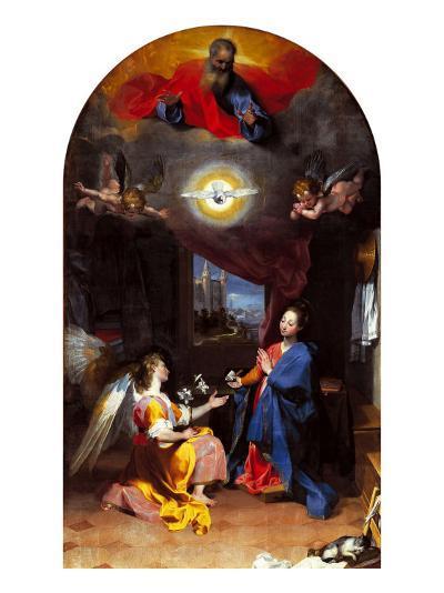 The Annunciation-Leopoldo Metlicovitz-Giclee Print
