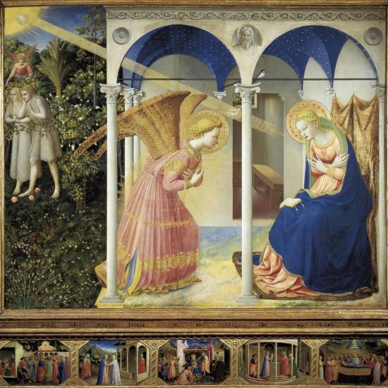 The Annunciation-Fra Angelico-Art Print