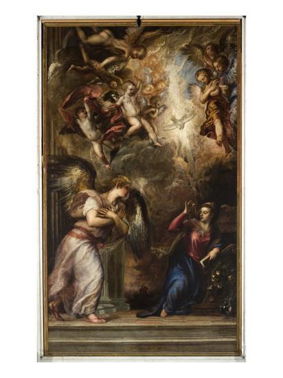 The Annunciation-Titian (Tiziano Vecelli)-Giclee Print