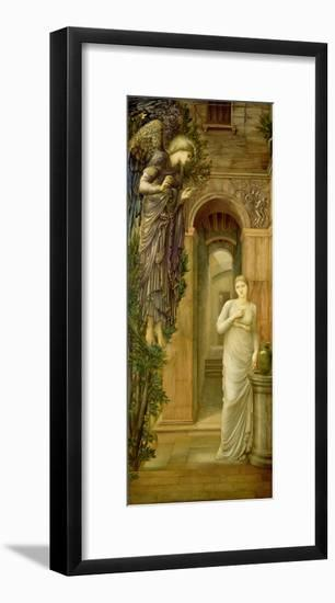 The Annunciation-Edward Burne-Jones-Framed Giclee Print