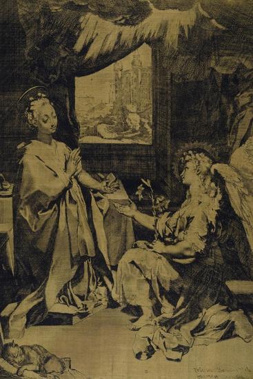 The Annunciation-Federico Barocci-Giclee Print