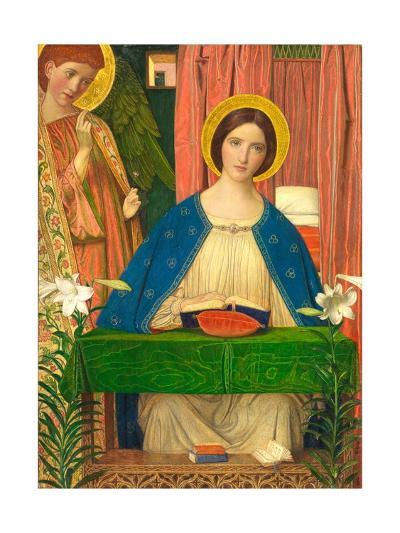 The Annunciation-Arthur Joseph Gaskin-Giclee Print