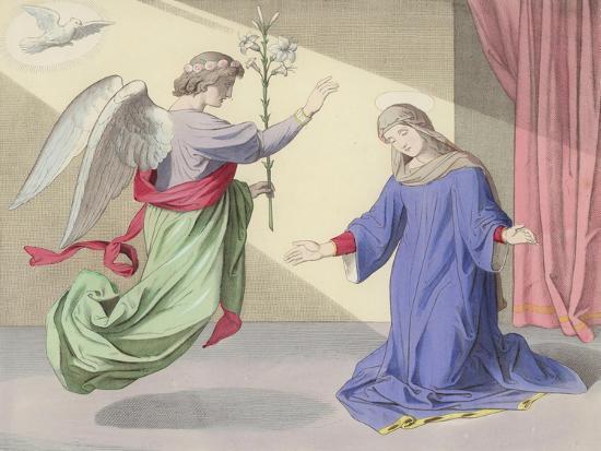 The Annunciation--Giclee Print