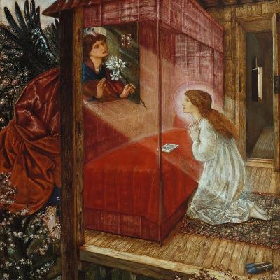 The Annunciation-Edward Burne-Jones-Giclee Print