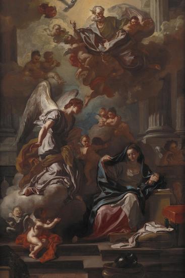 The Annunciation-Francesco Solimena-Giclee Print