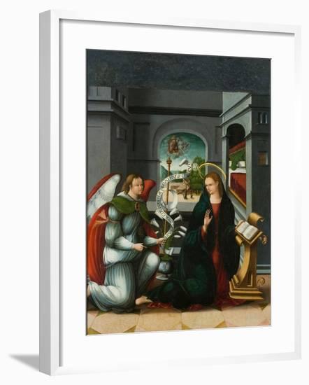 The Annunciation-Andrés de Melgar-Framed Giclee Print