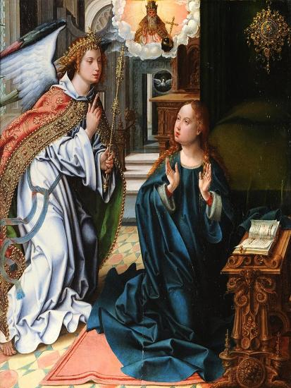 The Annunciation-Pieter Coecke Van Aelst the Elder-Giclee Print