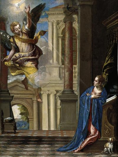 The Annunciation-Paolo Veronese-Giclee Print