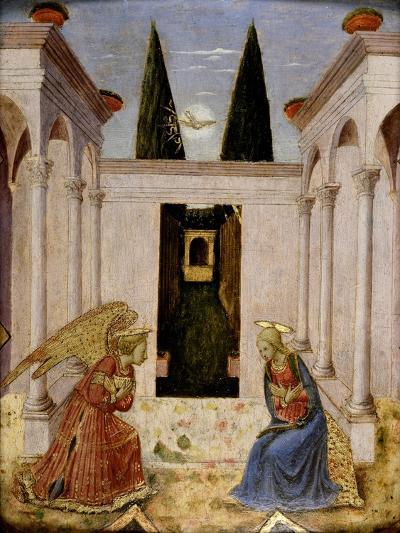 The Annunciation-Fra Angelico-Giclee Print