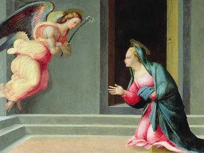 The Annunciation-Francesco Granacci-Giclee Print