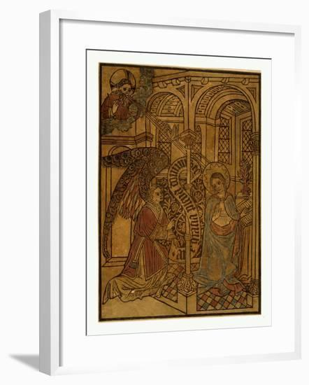 The Annunciation--Framed Giclee Print