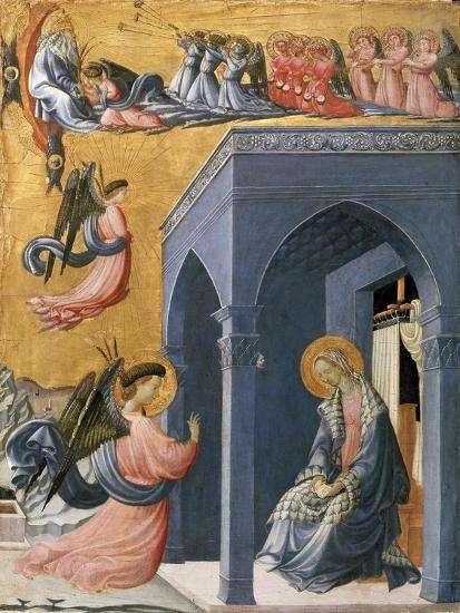 The Annunciation-Paolo Uccello-Giclee Print