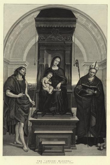 The Ansidei Madonna-Raphael-Giclee Print