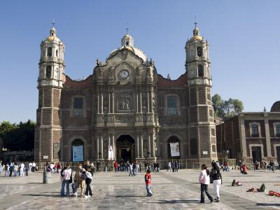 The Antigua Basilica Adjacent to the Basilica De Guadalupe, Mexico City, Mexico, North America-Robert Harding-Photographic Print