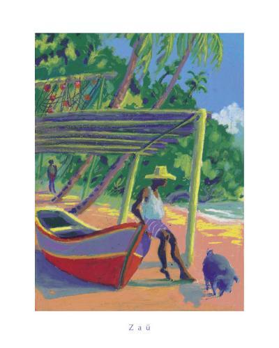 The Antilles- Zau-Art Print