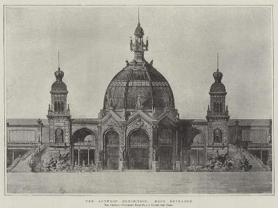 The Antwerp Exhibition, Main Entrance--Giclee Print