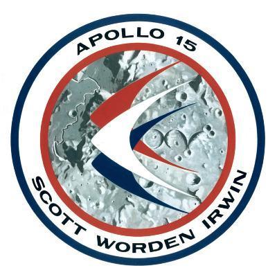 The Apollo 15 Lunar Mission Insignia, 1971--Giclee Print