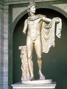 The Apollo Belvedere, Roman Copy, Probably of a Greek Original 4th Century BC