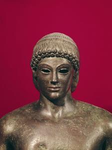 The Apollo of Piombino, Head of the Statue, Found in Benevento, Greek, circa 480 BC
