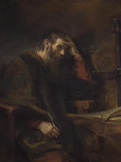 The Apostle Paul, C.1657-Rembrandt van Rijn-Giclee Print